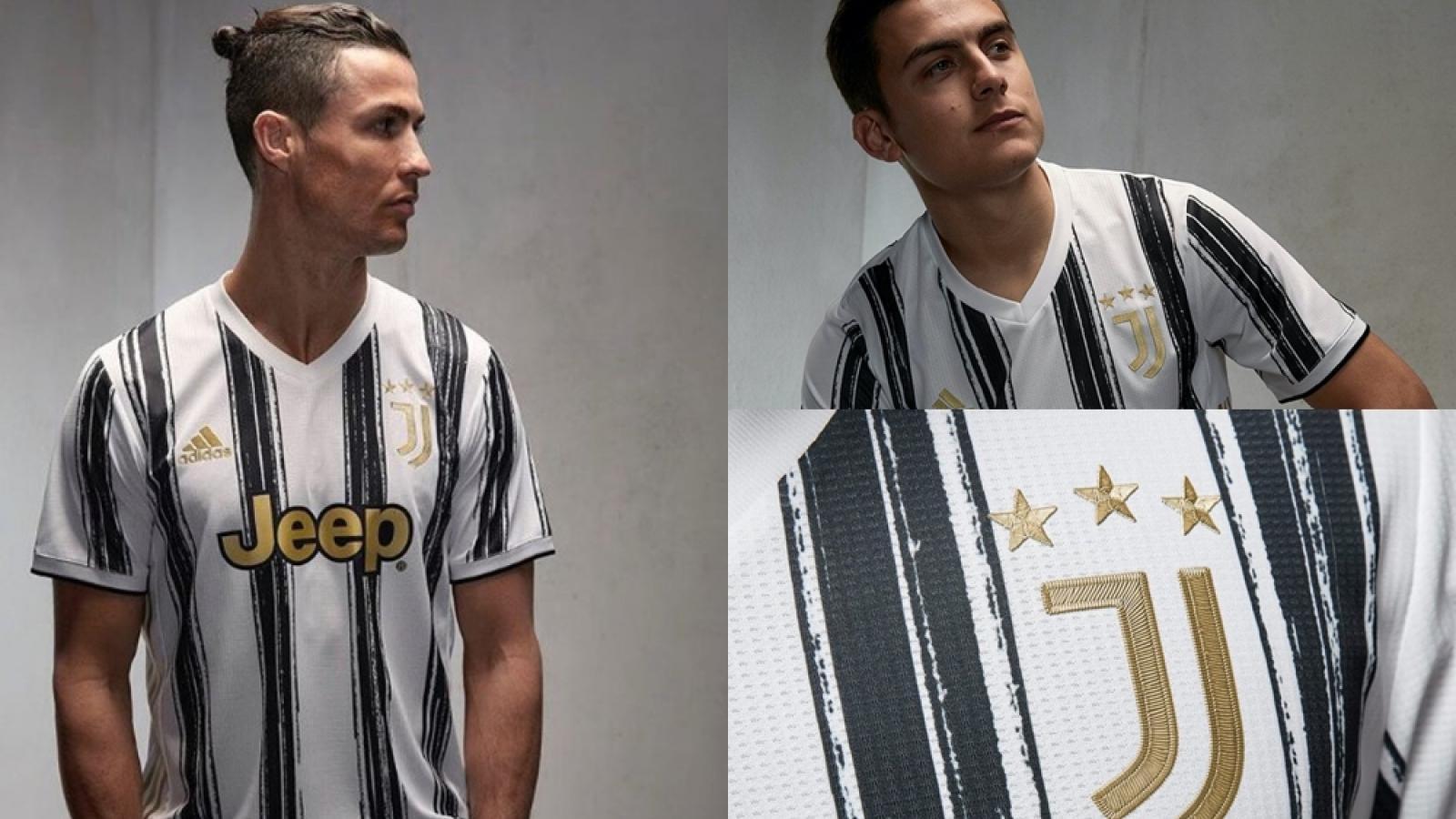 Cận cảnh áo đấu cực chất của Juventus ở mùa giải 2020/2021