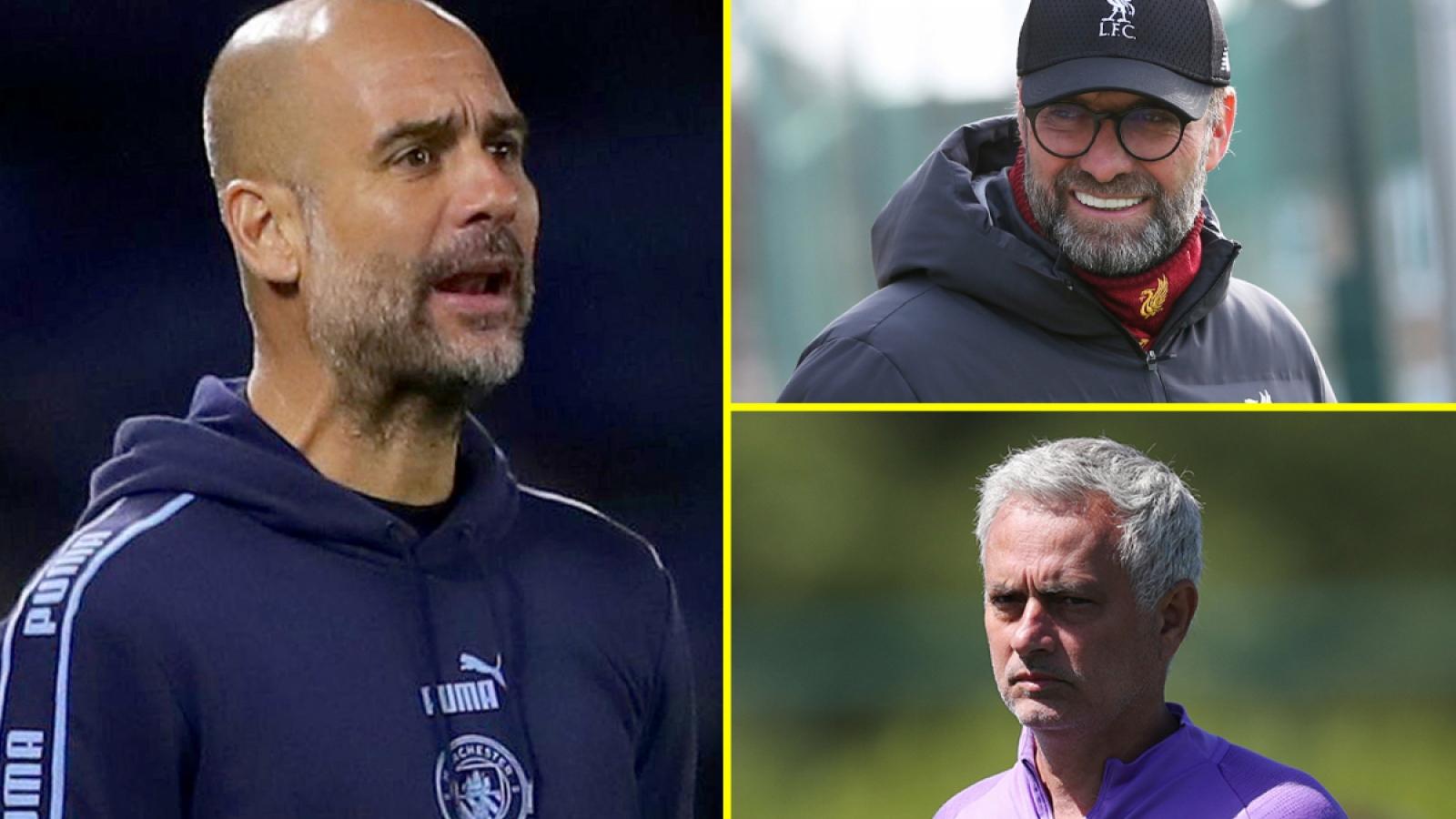 """Man City thoát án phạt, Guardiola """"đấu khẩu"""" với Klopp và Mourinho"""
