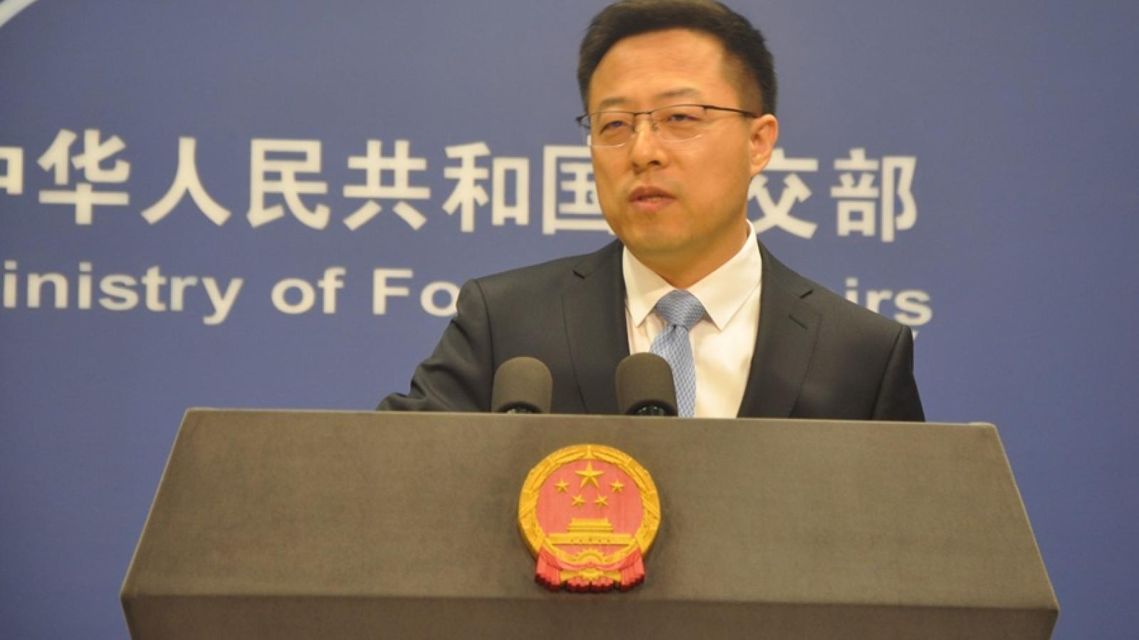 Trung Quốc yêu cầu Mỹ rút ngay lệnh trừng phạt quan chức Tân Cương