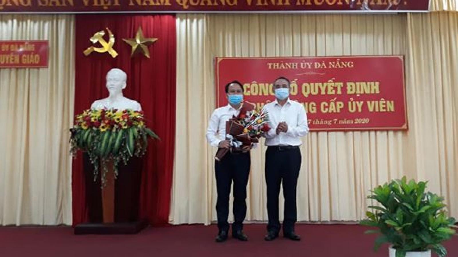 Bí thư Ngũ Hành Sơn làm Phó Trưởng Ban Tuyên giáo Thành ủy Đà Nẵng