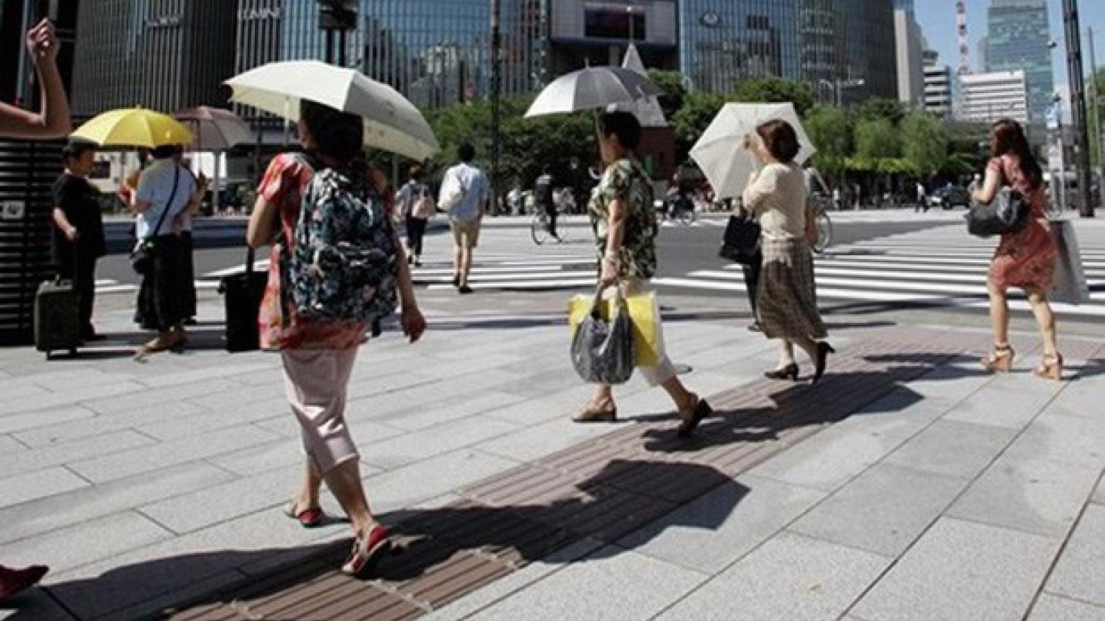 Số người tử vong do sốc nhiệt tại Nhật Bản gia tăng