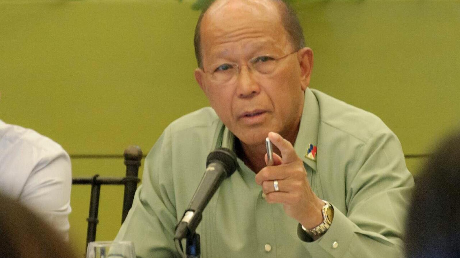 """Philippines gọi việc Trung Quốc tập trận ở Biển Đông là """"khiêu khích"""""""