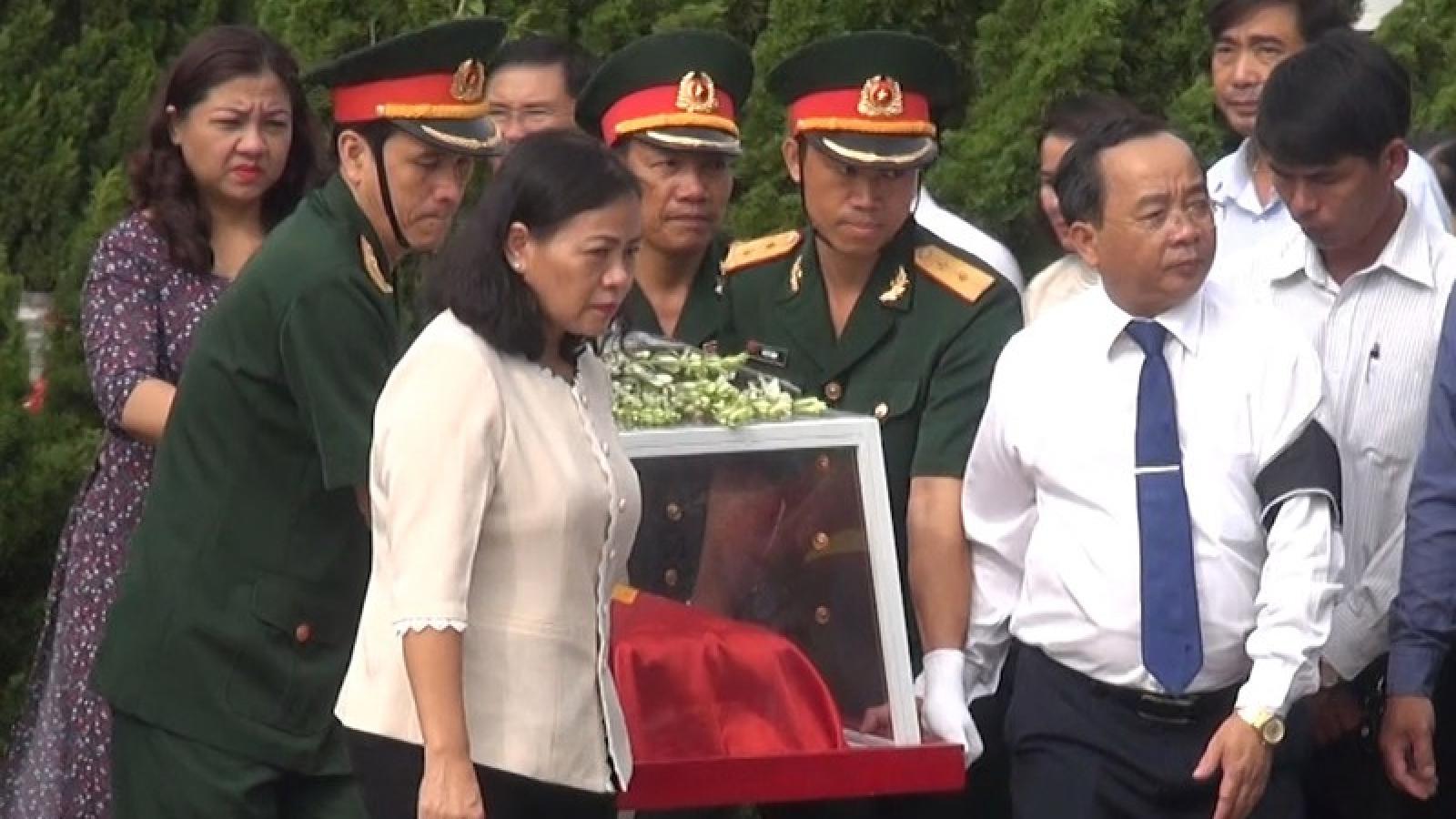 Kon Tum tổ chức lễ truy điệu, an táng 3 hài cốt liệt sĩ