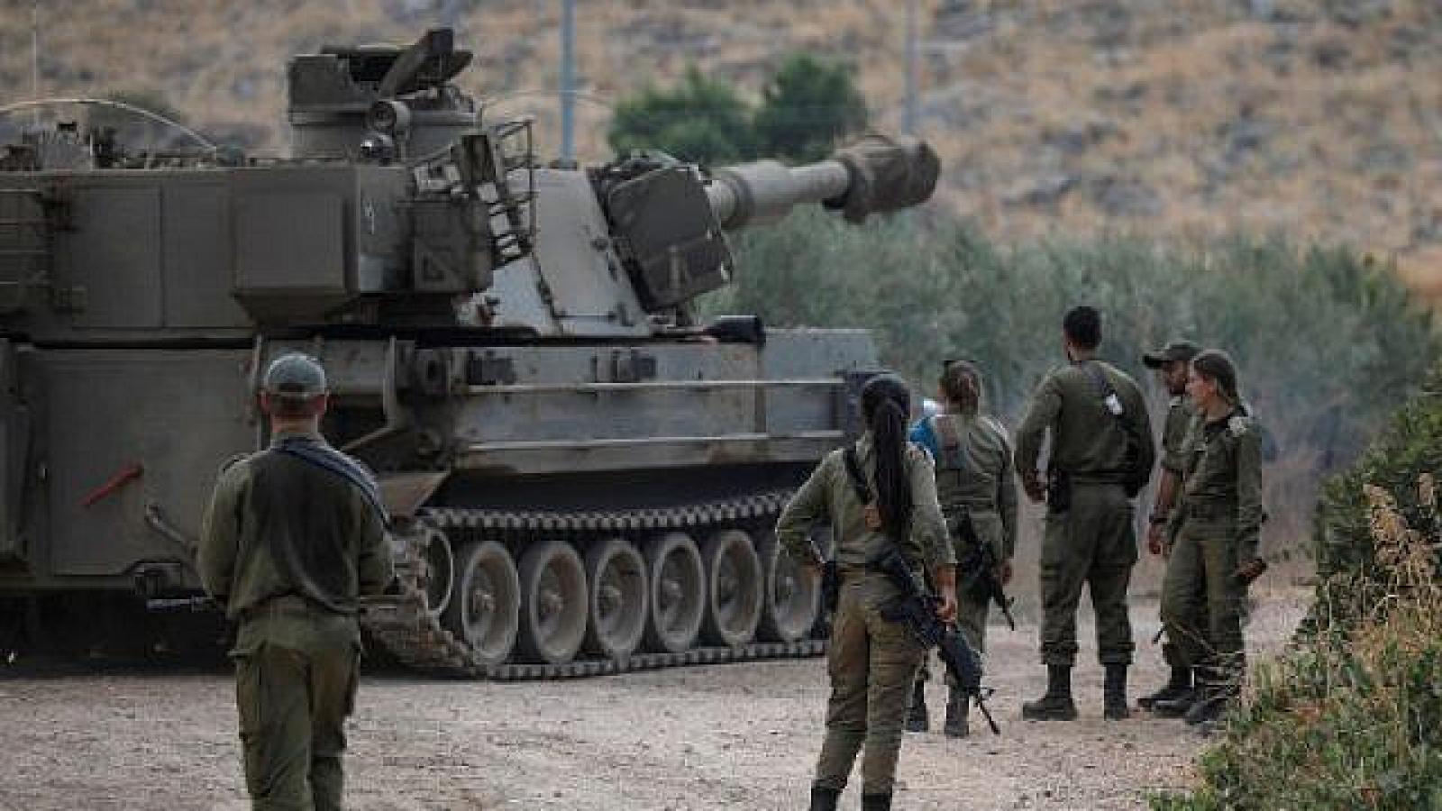 Israel đưa thêm quân tới biên giới với Lebanon để đề phòng Hezbollah