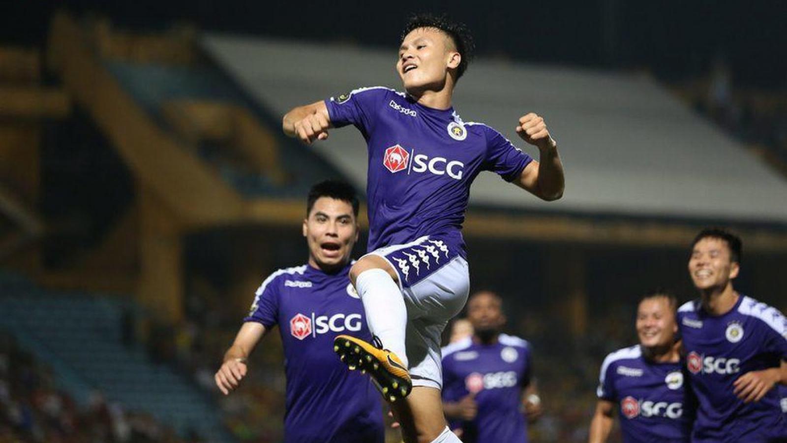 Quang Hải trở lại đội hình Hà Nội FC sau 2 trận liên tiếp làm khán giả?