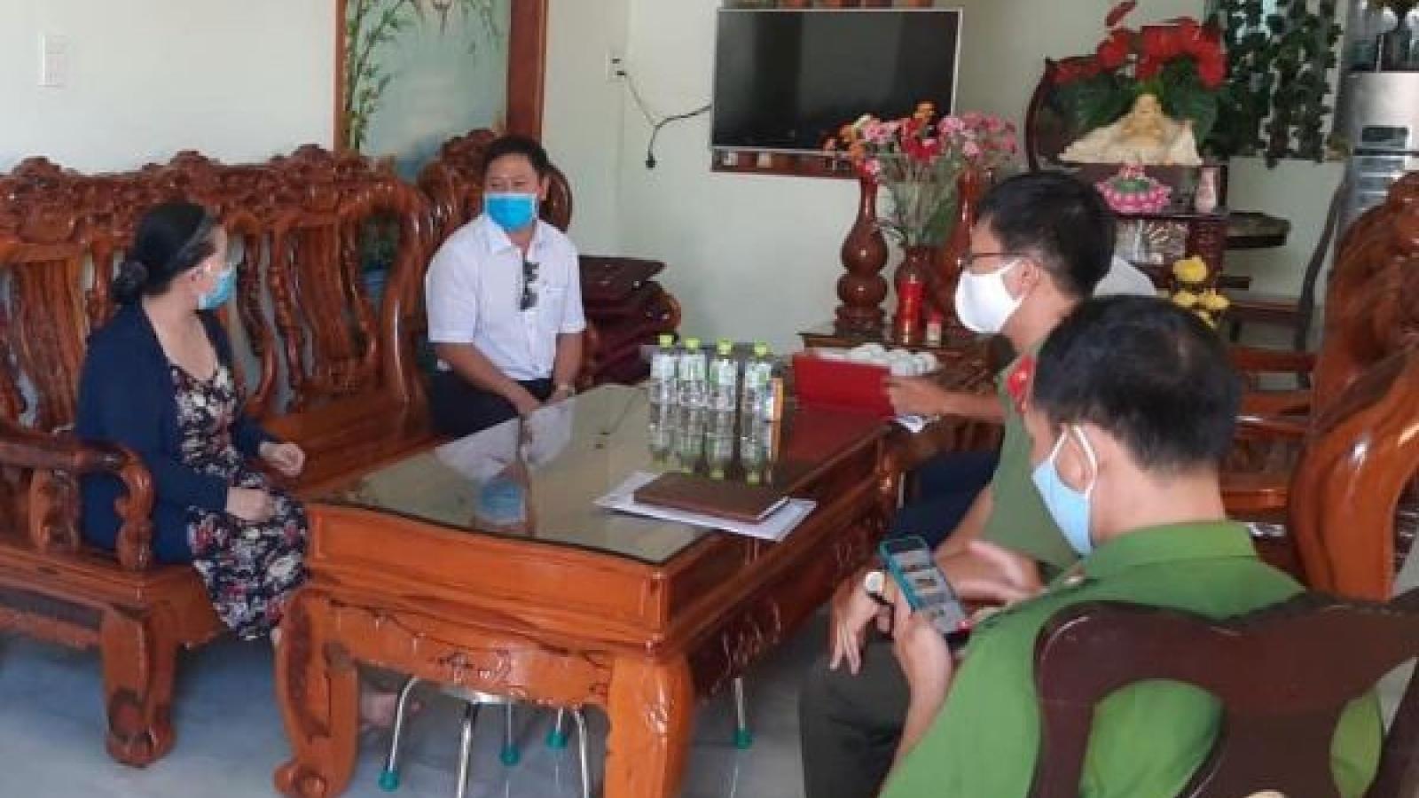 Xe chở bệnh nhân 419 của nhà xe Thanh Hường có nhiều vi phạm