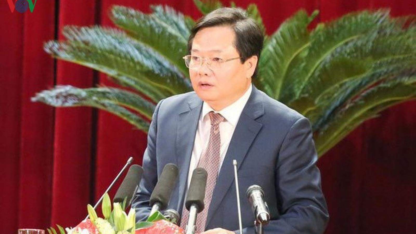 Kỷ luật Giám đốc Sở Tài chính tỉnh Quảng Ninh