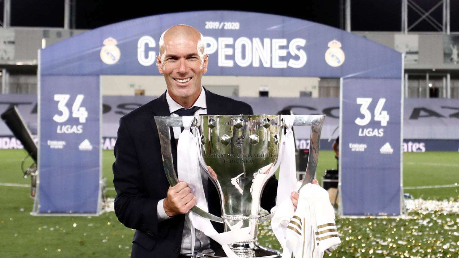 Real vô địch La Liga: Zizou viết bản hùng ca giữa đại dịch Covid-19
