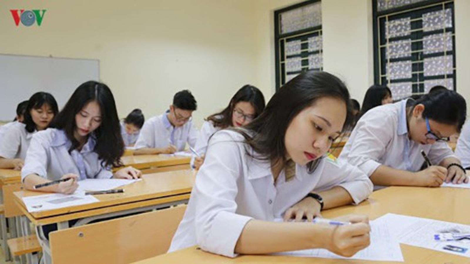 Các điểm thi tốt nghiệp THPT ở Lâm Đồng đều có phòng thi cách ly bạch hầu