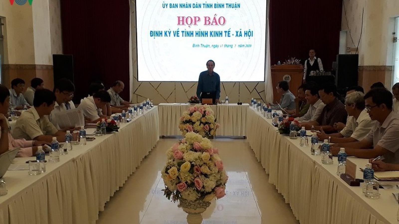 """Sai phạm quản lý đất đai """"làm nóng"""" họp báo của UBND tỉnh Bình Thuận"""