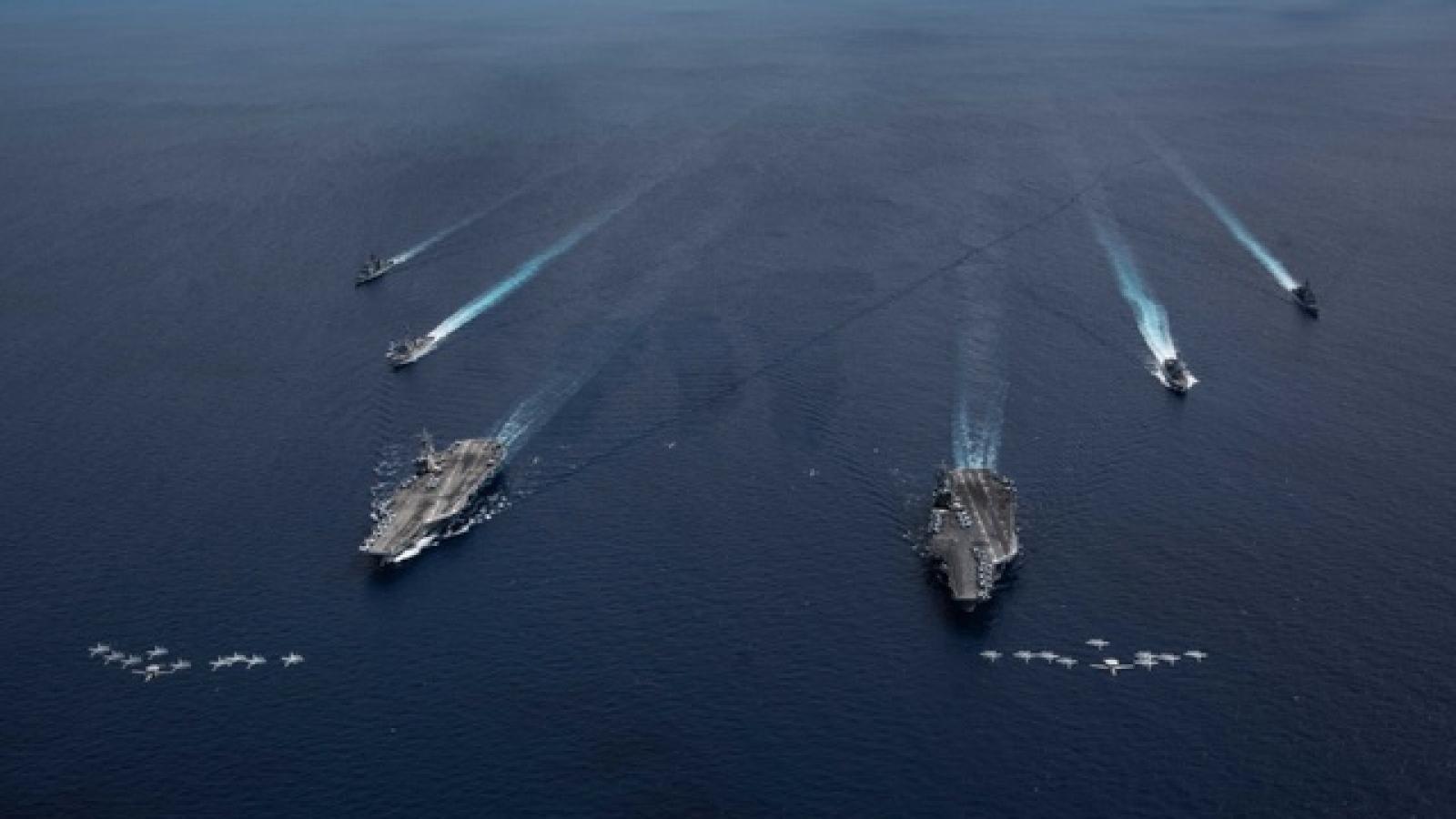 Lưỡng viện Mỹ bác bỏ yêu sách phi pháp của Trung Quốc ở Biển Đông