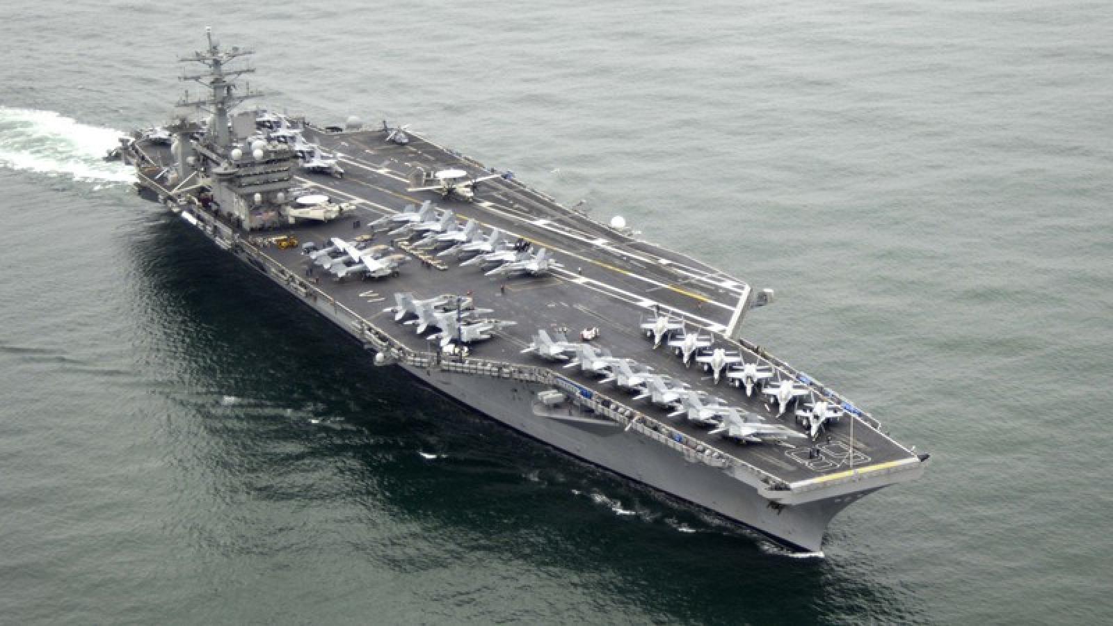 Tàu sân bay USS Nimitz tiến vào Ấn Độ Dương chuẩn bị cho diễn tập Mỹ-Ấn