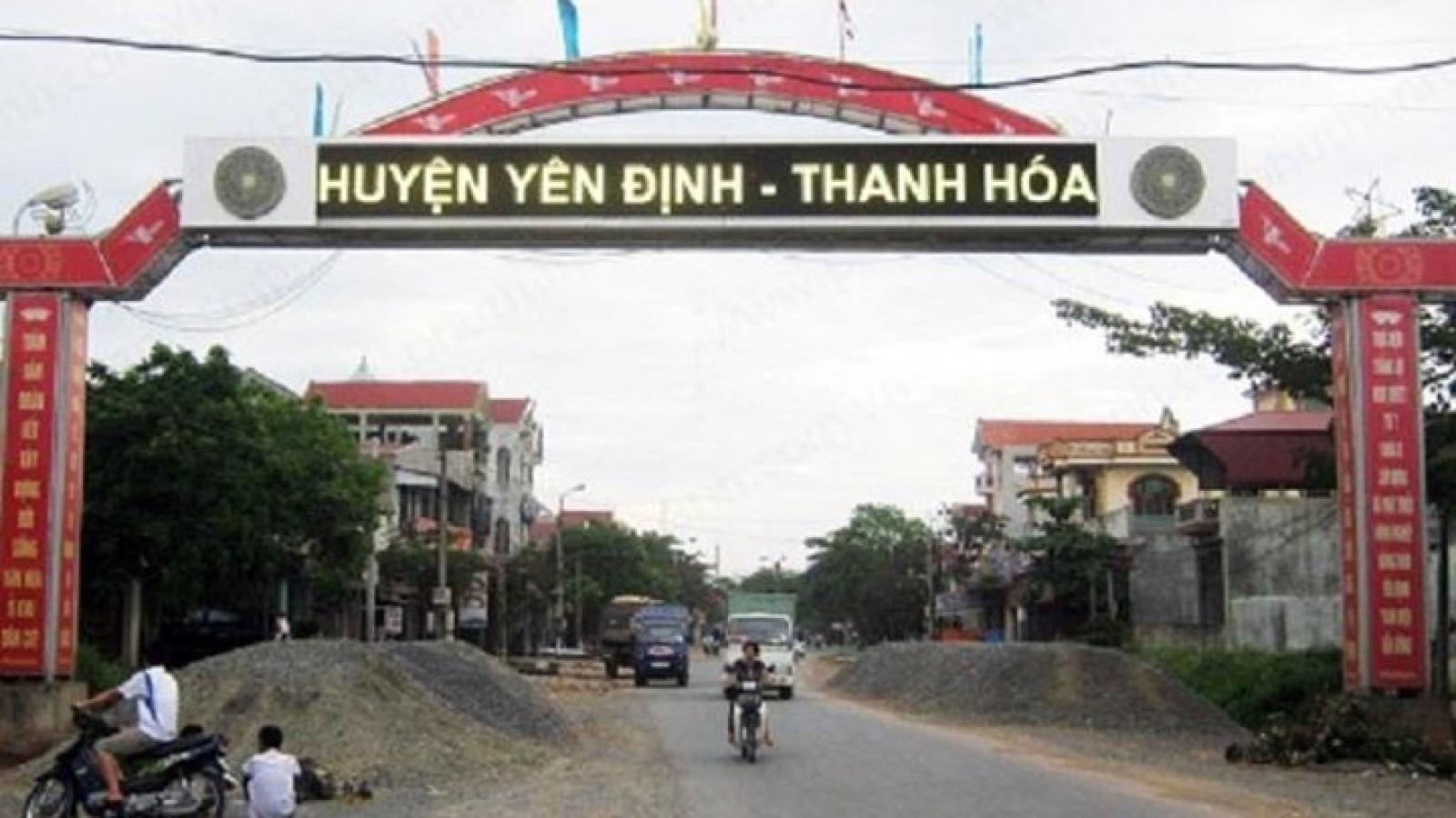 Xử lý hàng loạt cán bộ ở Thanh Hóa