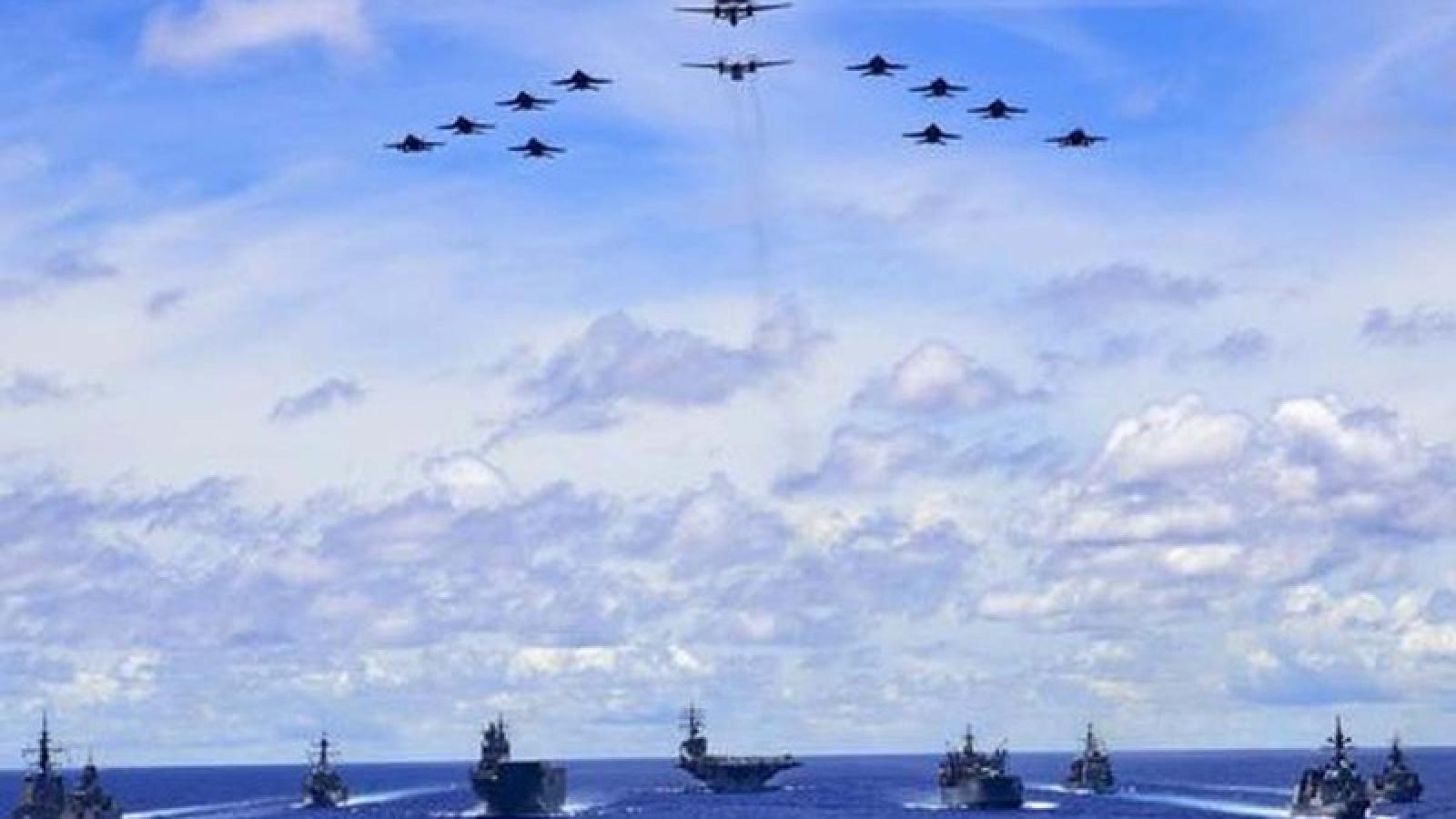 Australia tập trận với Mỹ và Nhật Bản để tăng cường phối hợp tác chiến