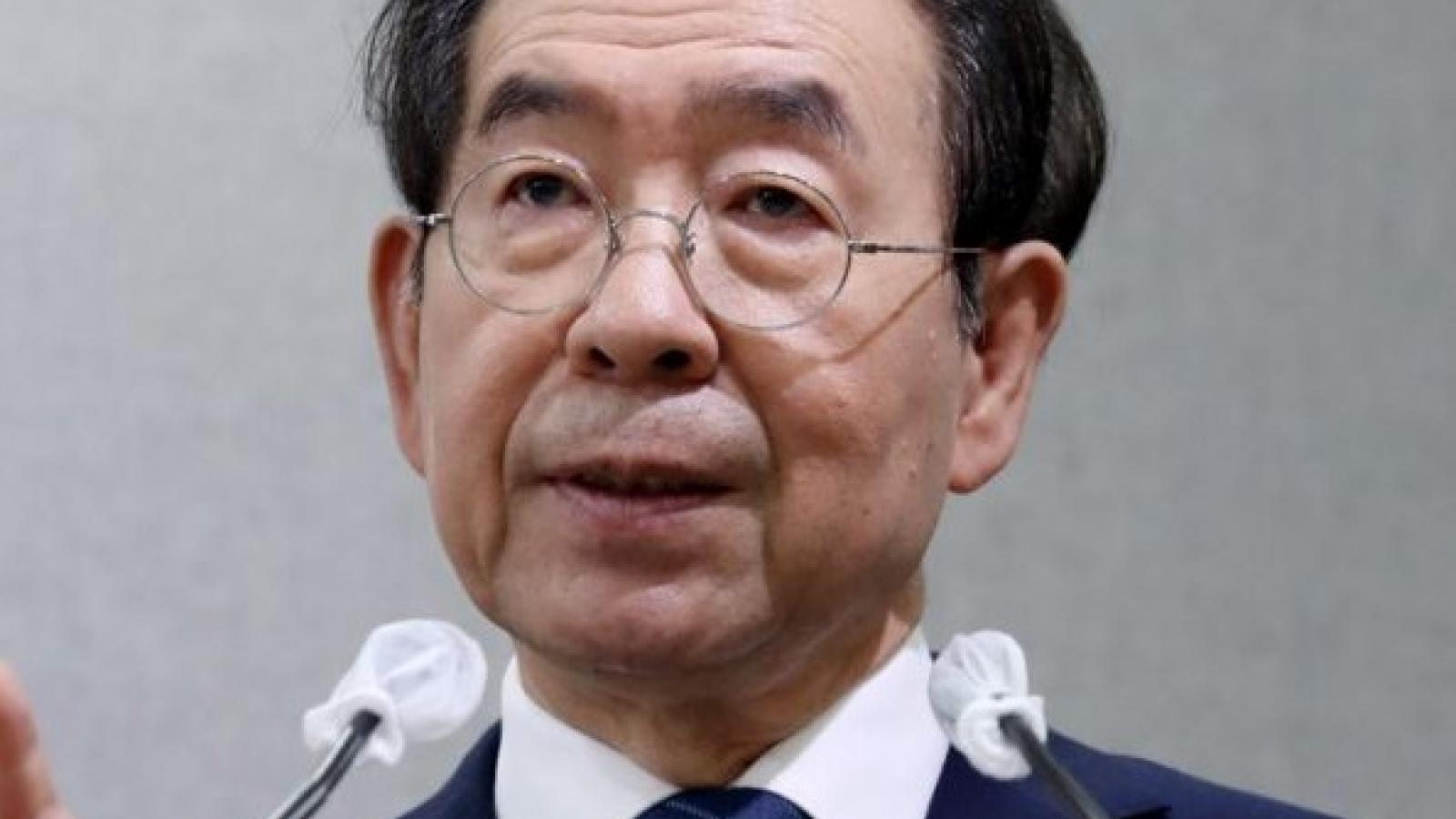 Hàn Quốc tìm thấy thi thể của thị trưởng Seoul
