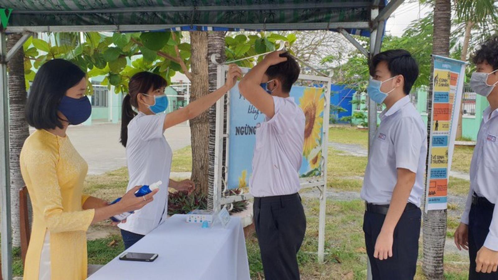 Đà Nẵng bảo đảm an toàn cho thí sinh dự thi tốt nghiệp THPT 2020