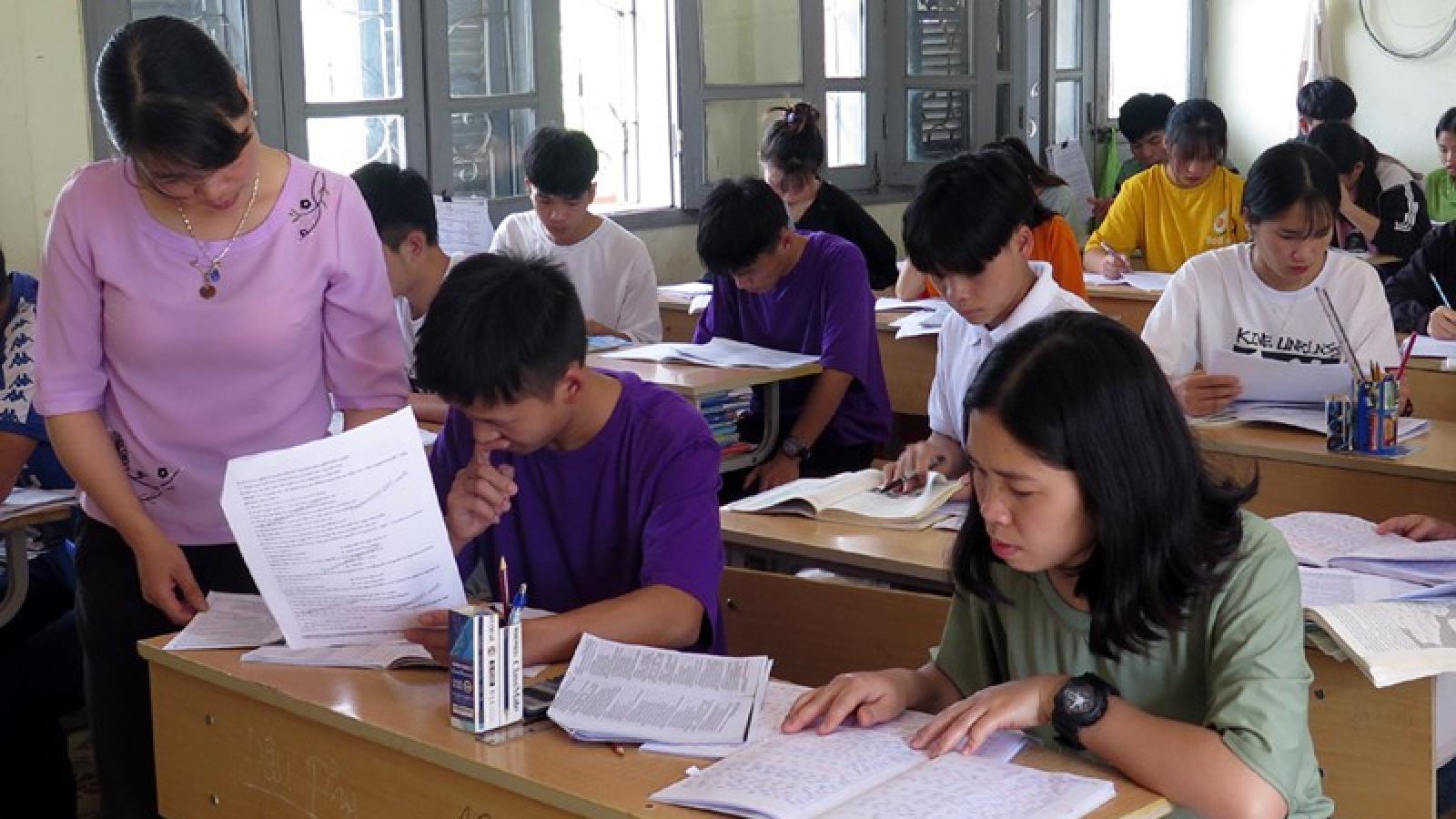 Lai Châu đảm bảo an toàn kỳ thi tốt nghiệp THPT trong mùa mưa lũ