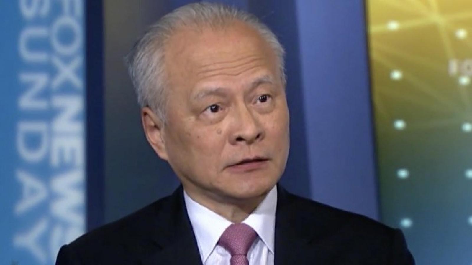 Đại sứ Trung Quốc kêu gọi Trung - Mỹ kiểm soát tốt bất đồng