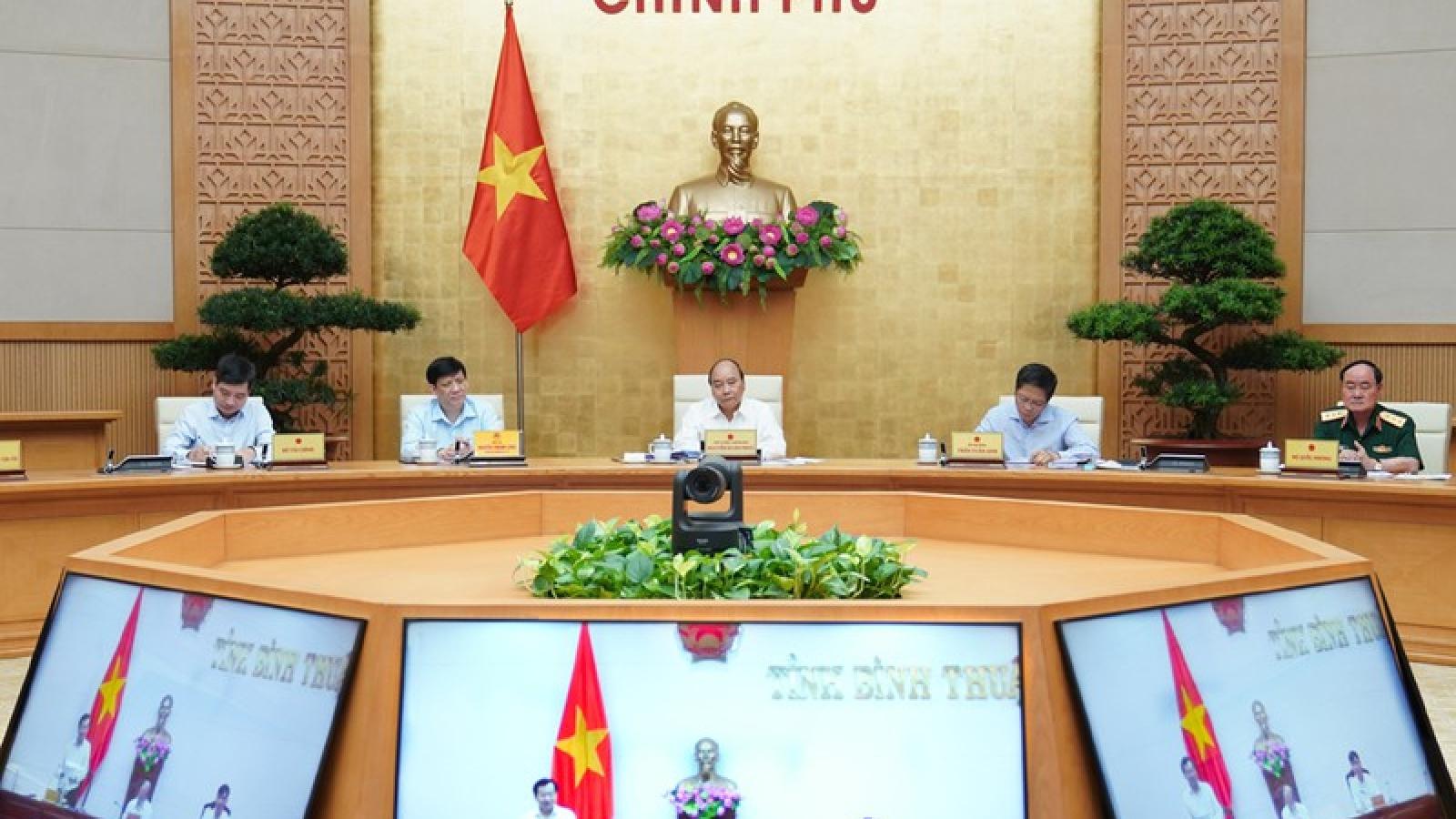 Thủ tướng hoan nghênh Bình Thuận cam kết giải ngân 100% vốn đầu tư công