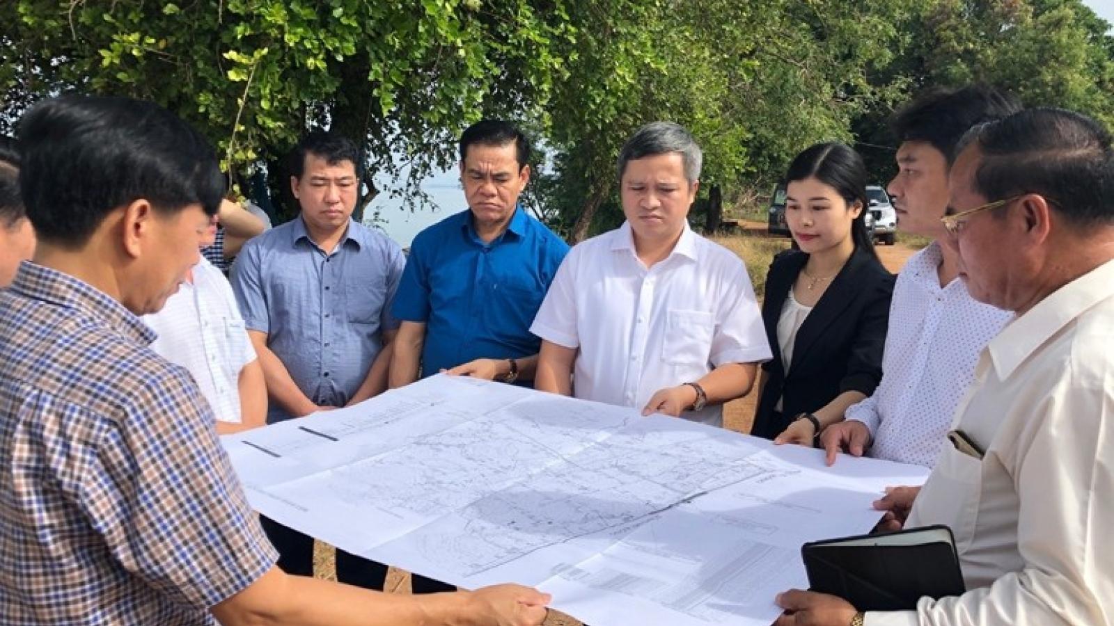Việt Nam viện trợ không hoàn lại cho dự án thủy lợi của Lào