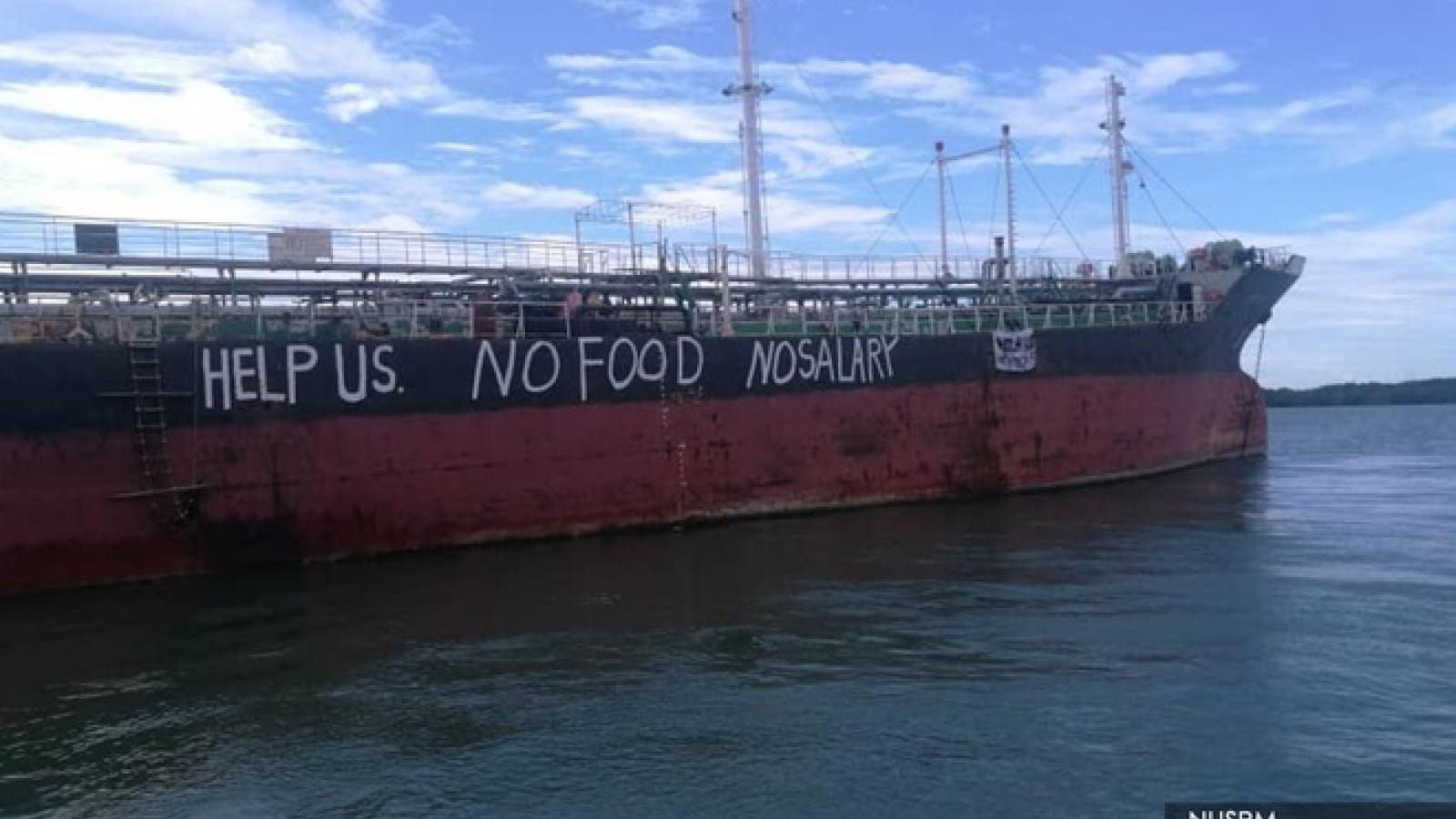 BNG thông tin về việc thuyền viên tàu Việt Tín 01 bị kẹt ở Malaysia