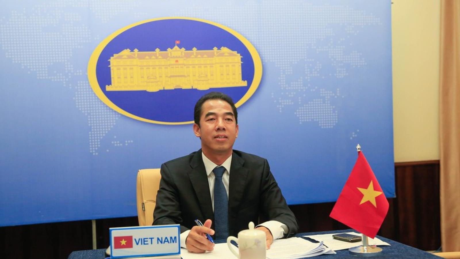 Quốc vụ khanh Anh cám ơn Việt Nam đã tận tình chữa trị bệnh nhân 91