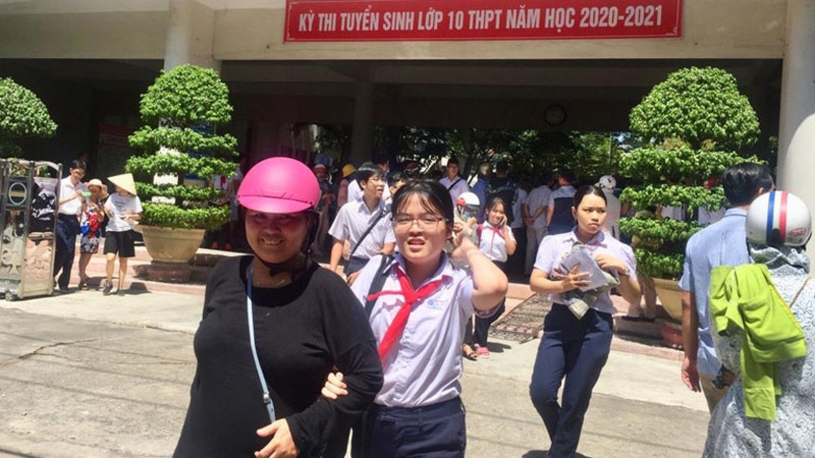 Môn thi Toán vào lớp 10 ở Đà Nẵng: Đề thi có độ phân hóa nhưng không quá khó 
