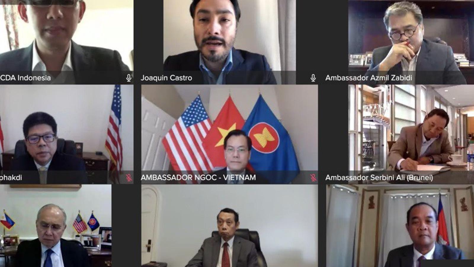 Nhóm ASEAN tại Quốc hội Mỹ khẳng định tăng cường quan hệ với ASEAN