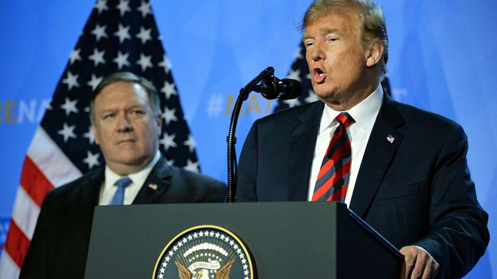 Tổng thống Trump nói không muốn Mỹ rút khỏi NATO