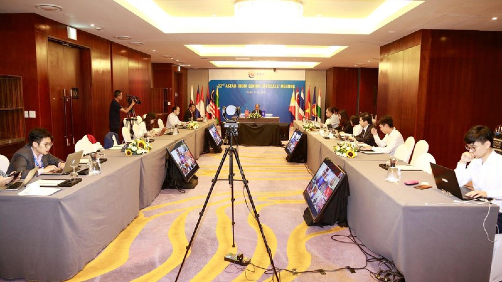 ASEAN-Ấn Độ phấn đấu đạt kim ngạch thương mại 200 tỉ USD vào năm 2022