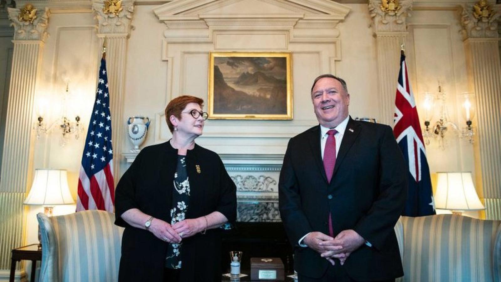 Australia và Mỹ cam kết hỗ trợ Ấn Độ-Thái Bình Dương đối phó Covid-19