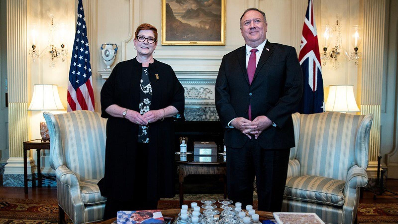Australia, Mỹ sẽ thảo luận Biển Đông tại Hội nghị AUSMIN 2020
