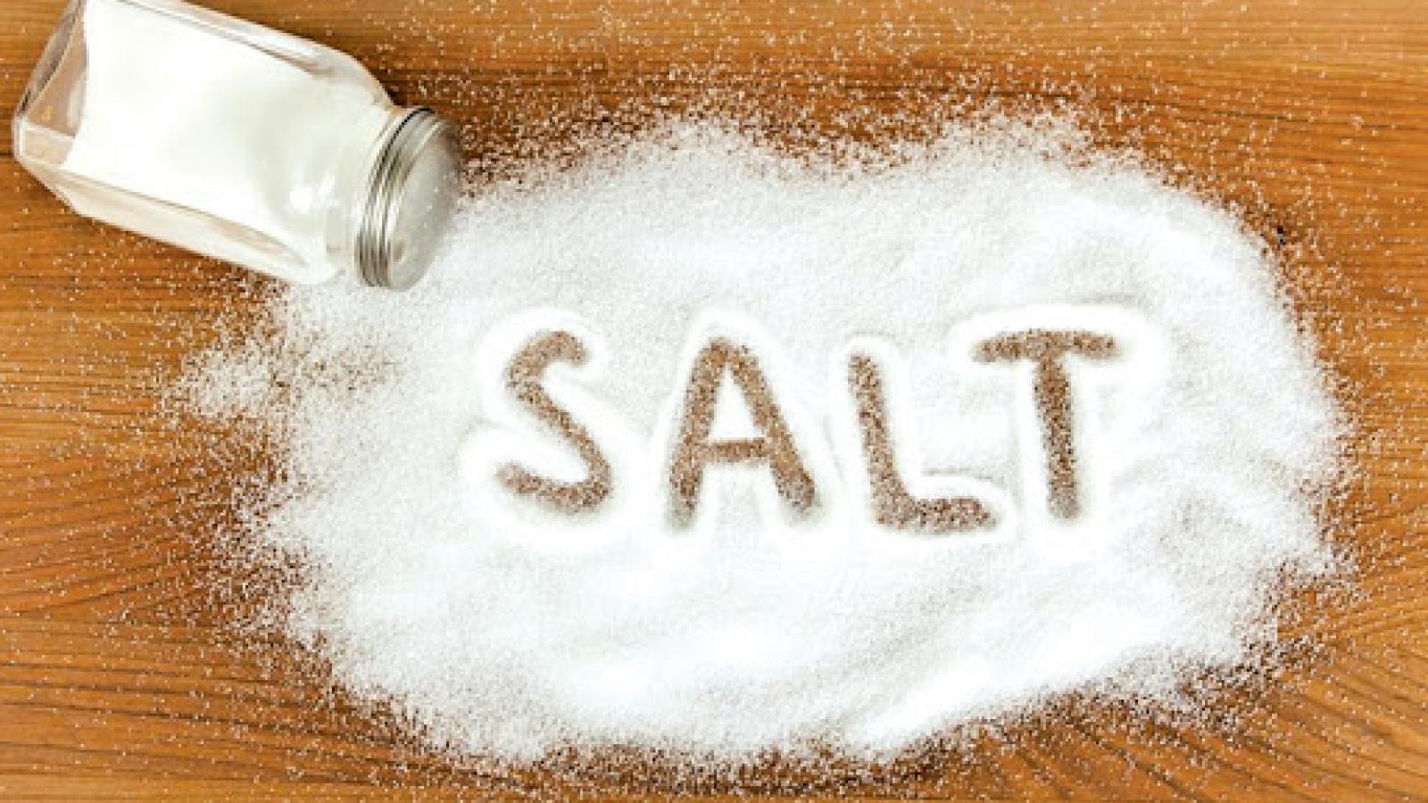 Bộ Y tế kêu gọi giảm ăn muối để tránh nguy cơ tăng huyết áp