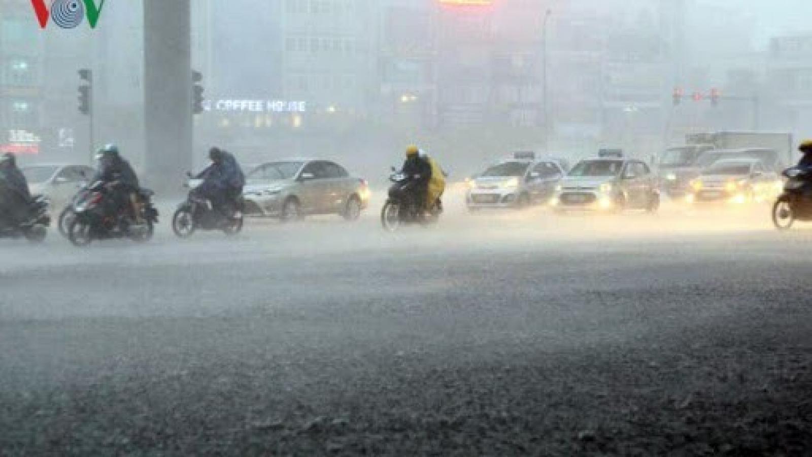 Thời tiết ngày 29/7: Cảnh báo mưa dông và lốc ở nhiều tỉnh thành Bắc Bộ