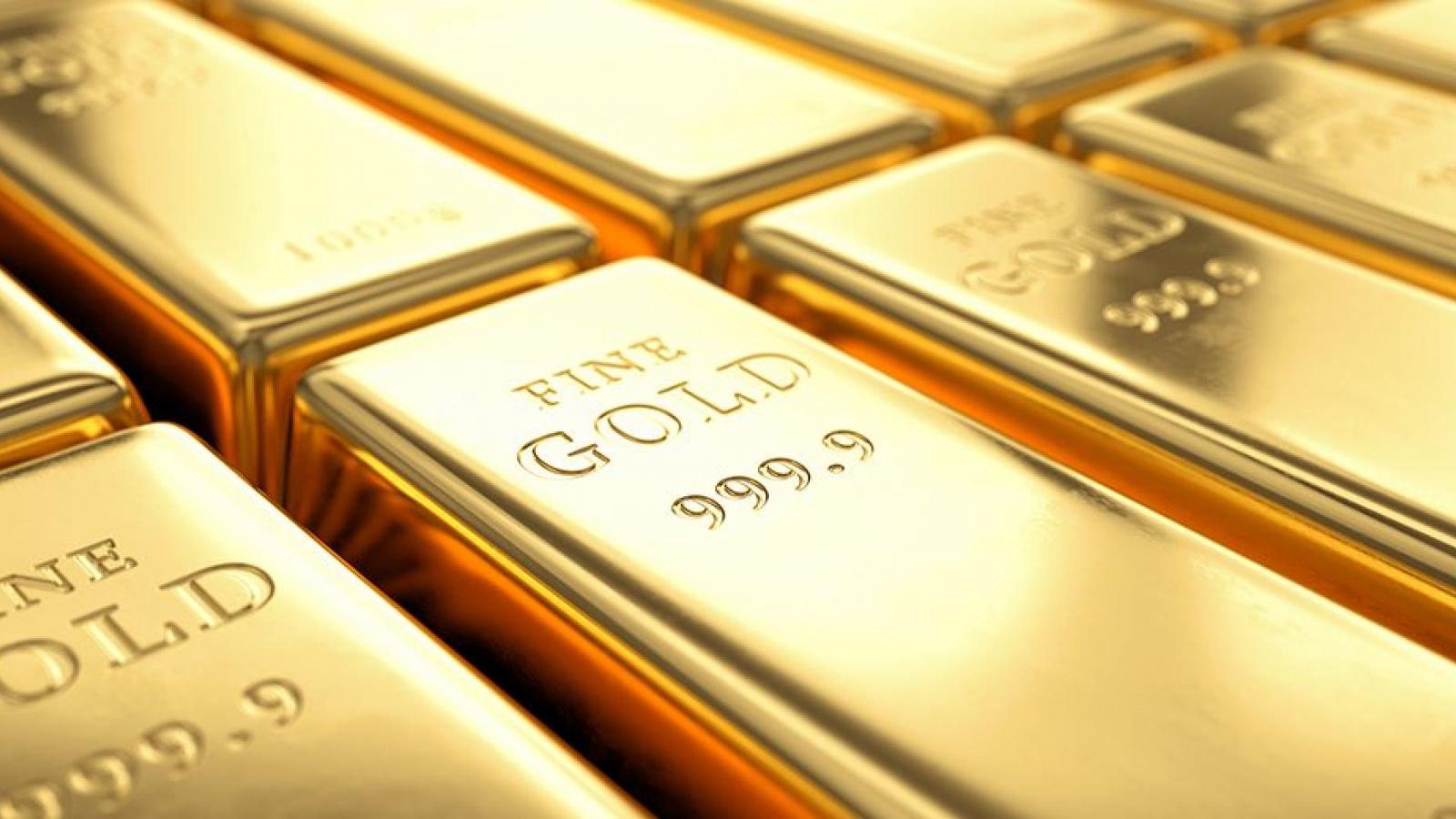 Giá vàng dự báo tiếp tục tăng sau khi vượt mốc 1.800 USD/oz