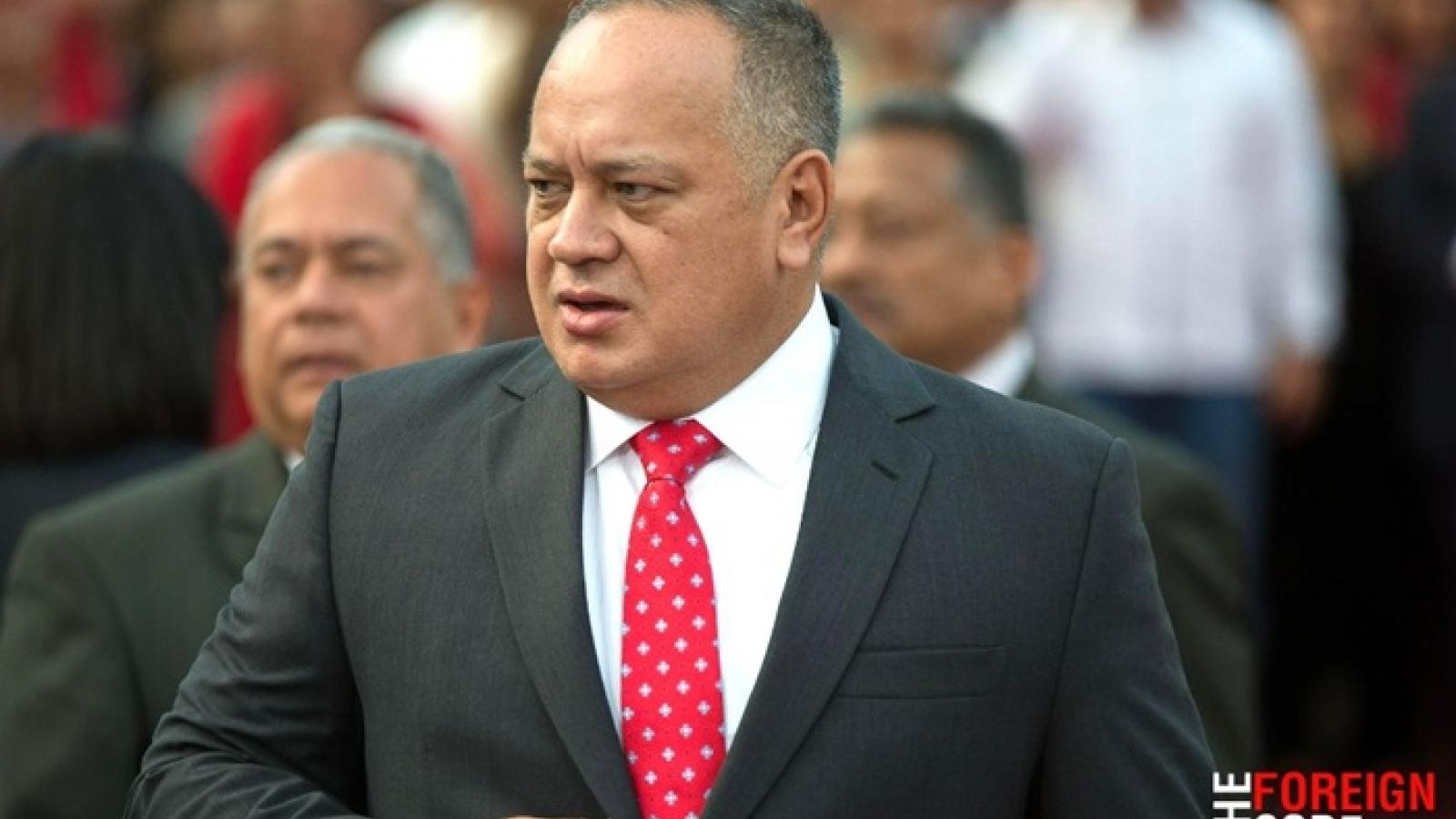Chủ tịch Quốc hội Lập hiến Venezuela mắc Covid-19