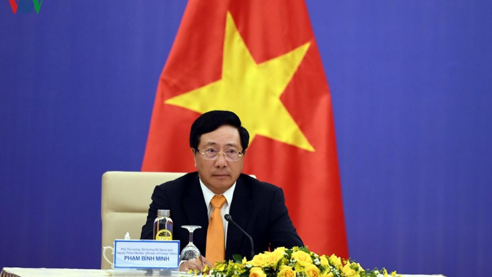 Việt Nam và Trung Quốc trao đổi thẳng thắn về tình hình trên biển