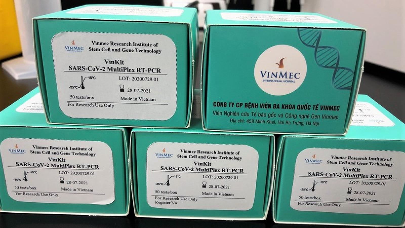 Vinmec phát triển thành công 2 bộ Kit xét nghiệm virus SARS CoV-2