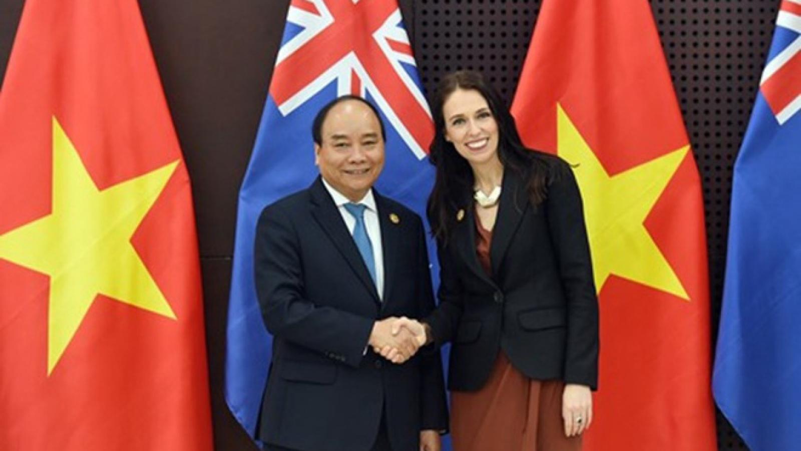 Khả năng nâng tầm quan Việt Nam New Zealand lên đối tác chiến lược