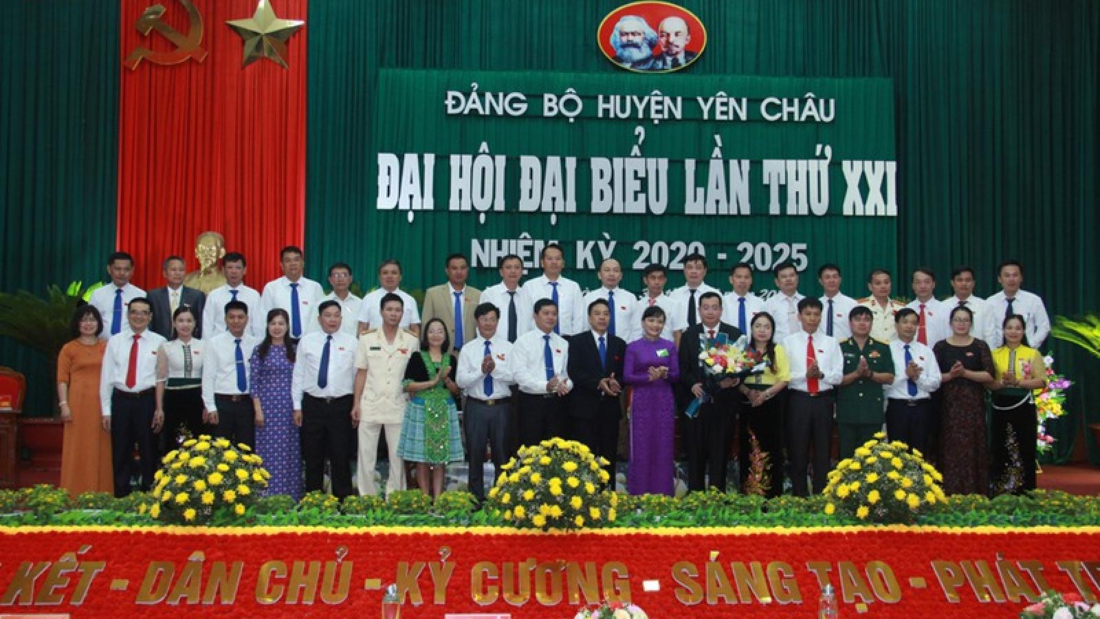 Ông Tòng Thế Anh trúng cử Bí thư Huyện ủy Yên Châu, Sơn La