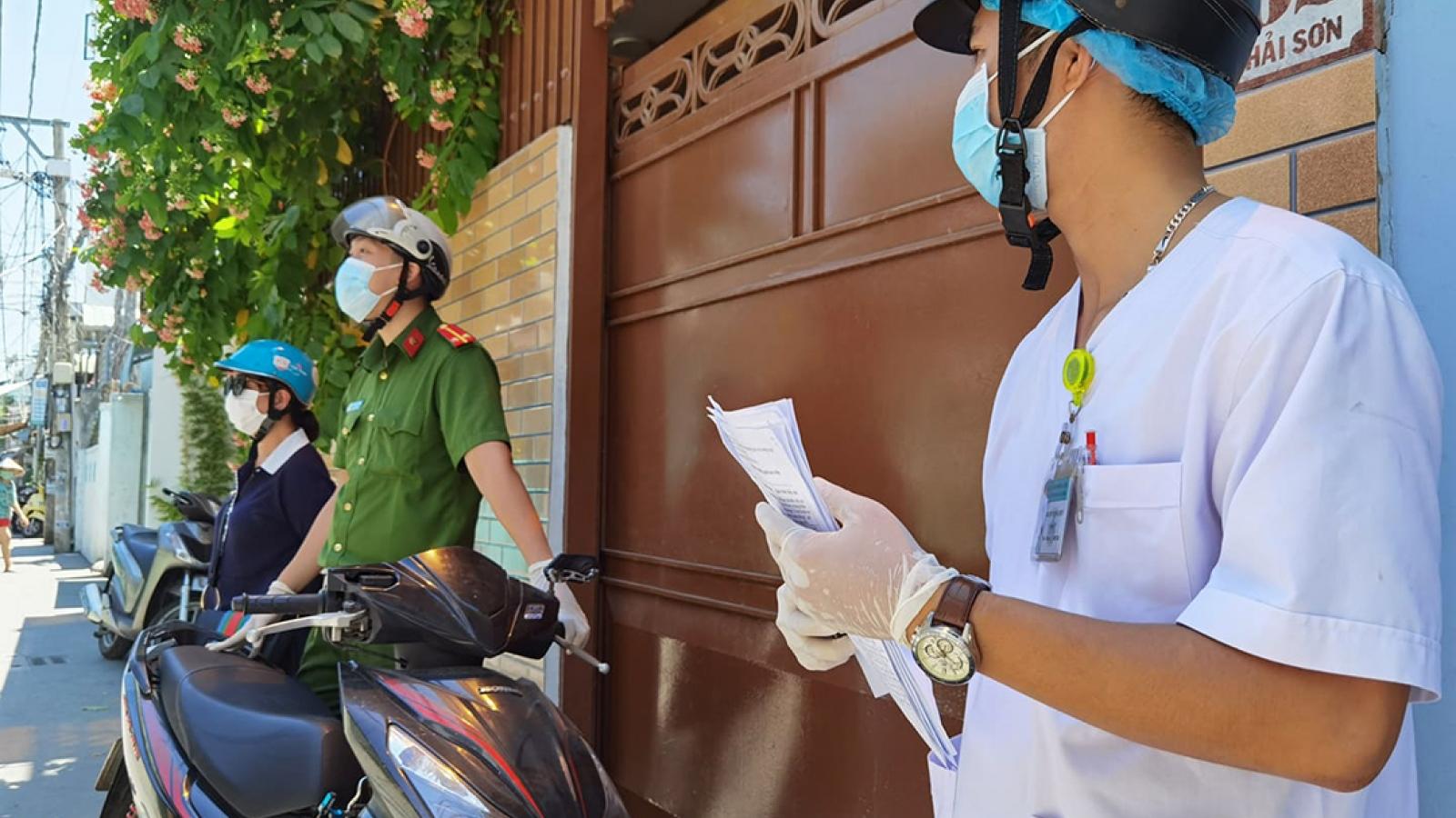 Thông tin truy vết 11 ca mắc Covid-19 mới tại Đà Nẵng
