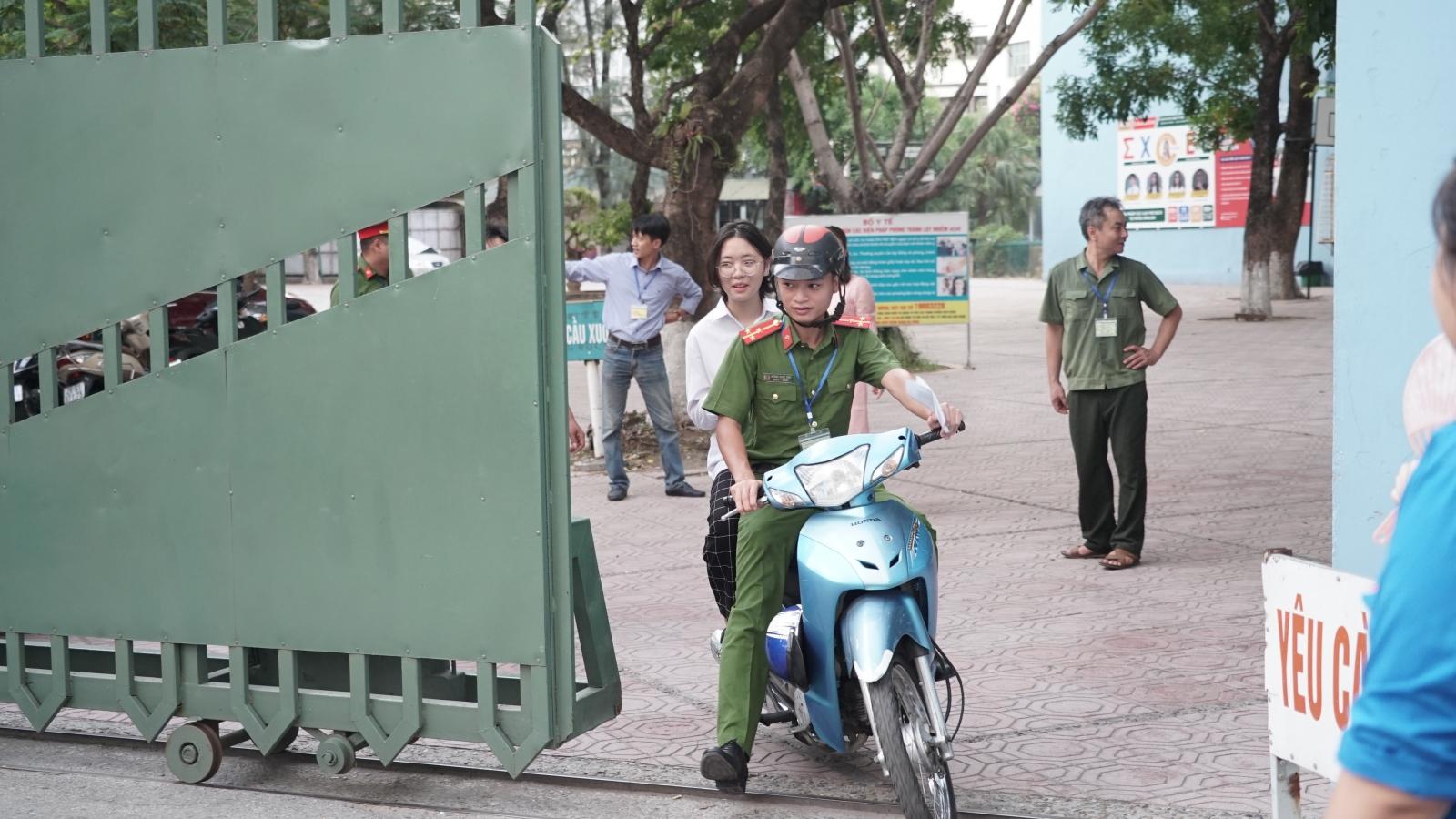 Những hình ảnh ấn tượng trong 2 ngày thi vào lớp 10 THPT tại Hà Nội