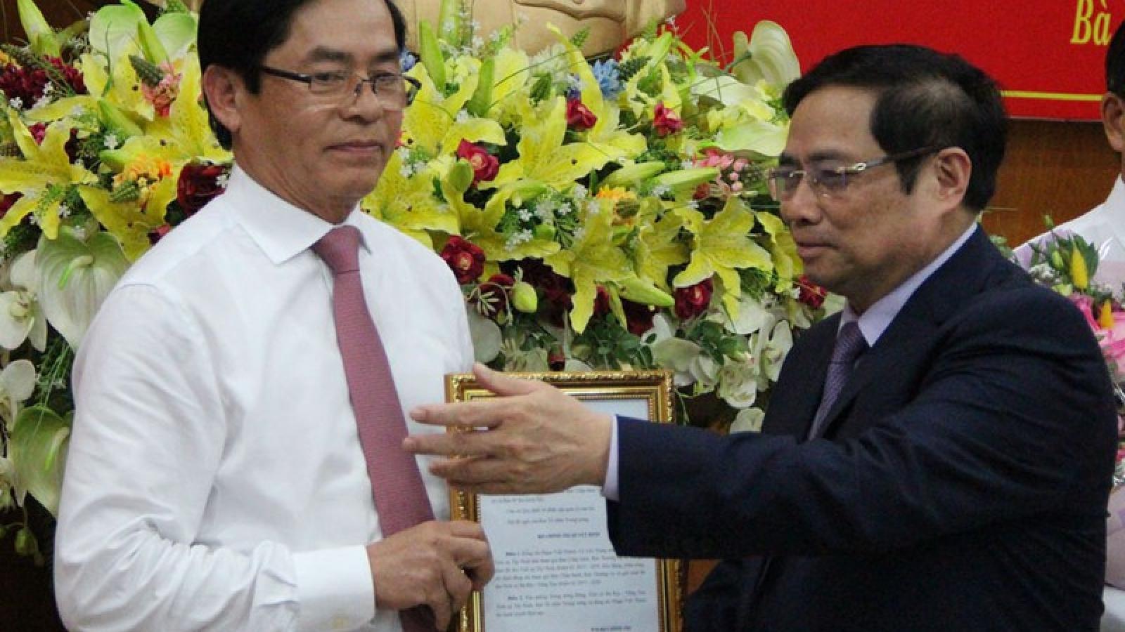 Ông Phạm Viết Thanh giữ chức Bí thư Tỉnh ủy Bà Rịa- Vũng Tàu