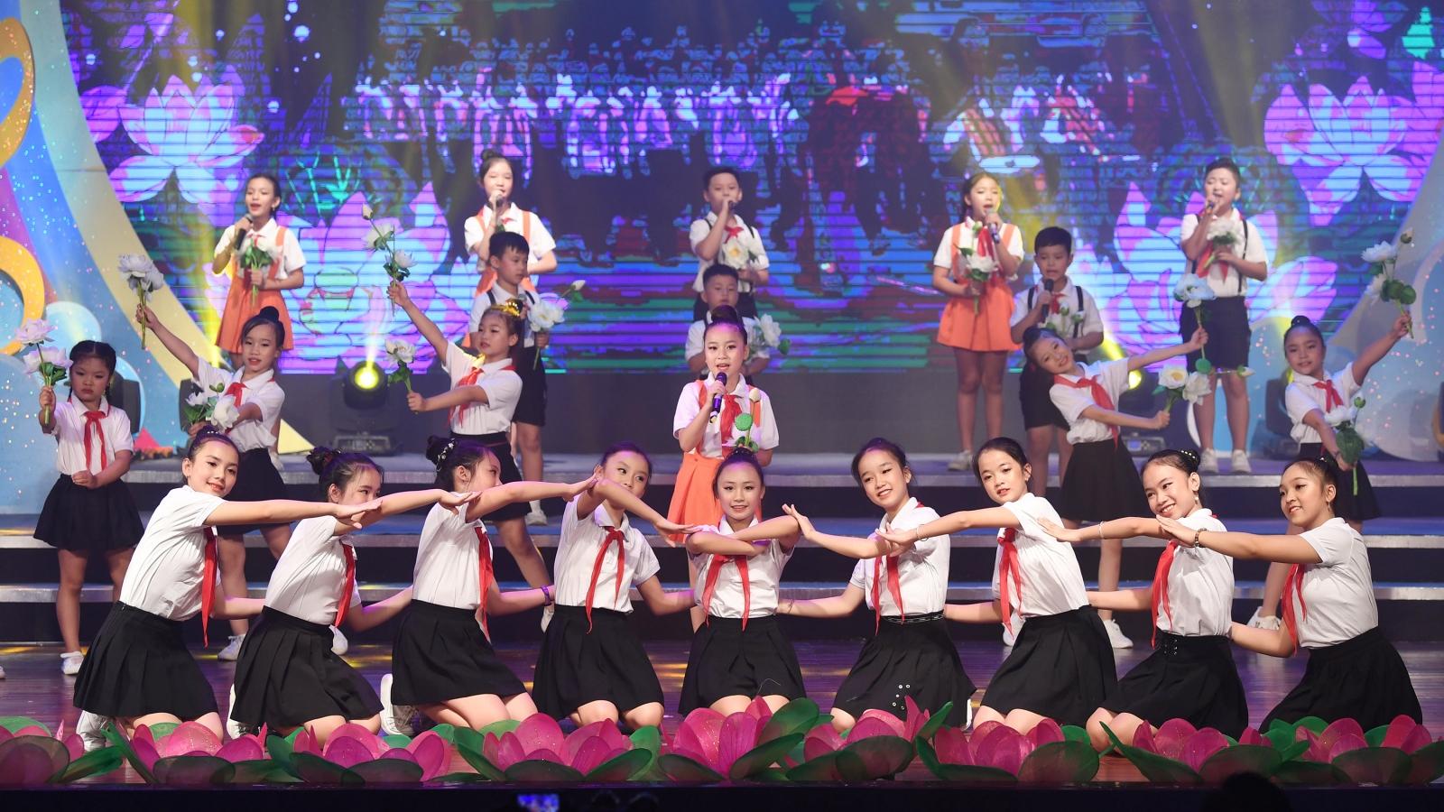 Các em thiếu nhi sôi nổi tranh tài ở Liên hoan Giai điệu Sơn ca 2020