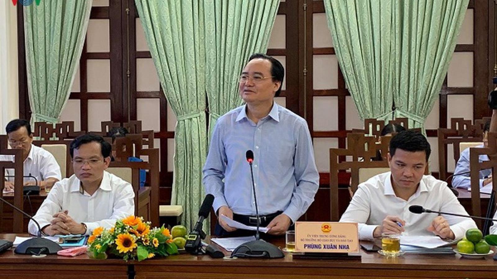 Thừa Thiên Huế: Đảm bảo kỳ thi tốt nghiệp THPT an toàn nghiêm túc