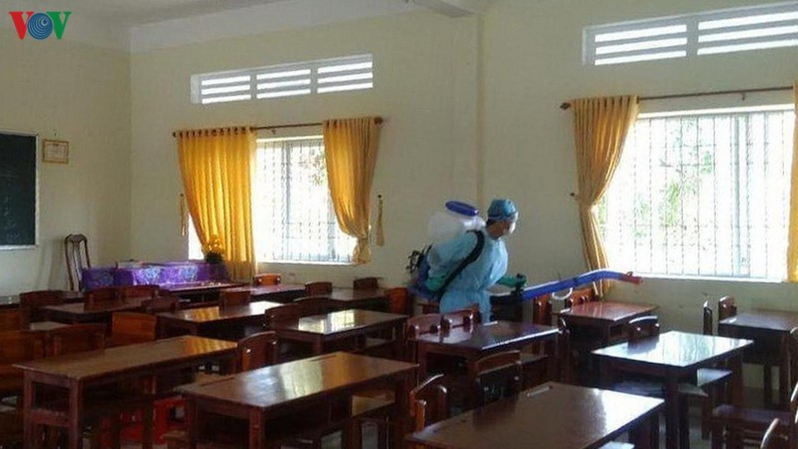 Toàn bộ học sinh Đà Nẵng nghỉ học để phòng dịch Covid-19