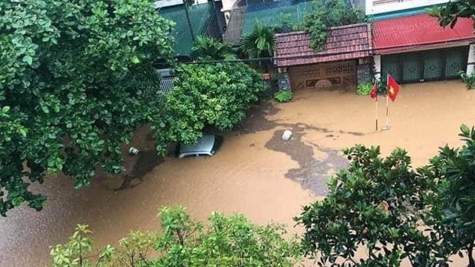 Mưa lớn tại Hà Giang gây ngập lụt, sạt lở đất đá, 3 người tử vong