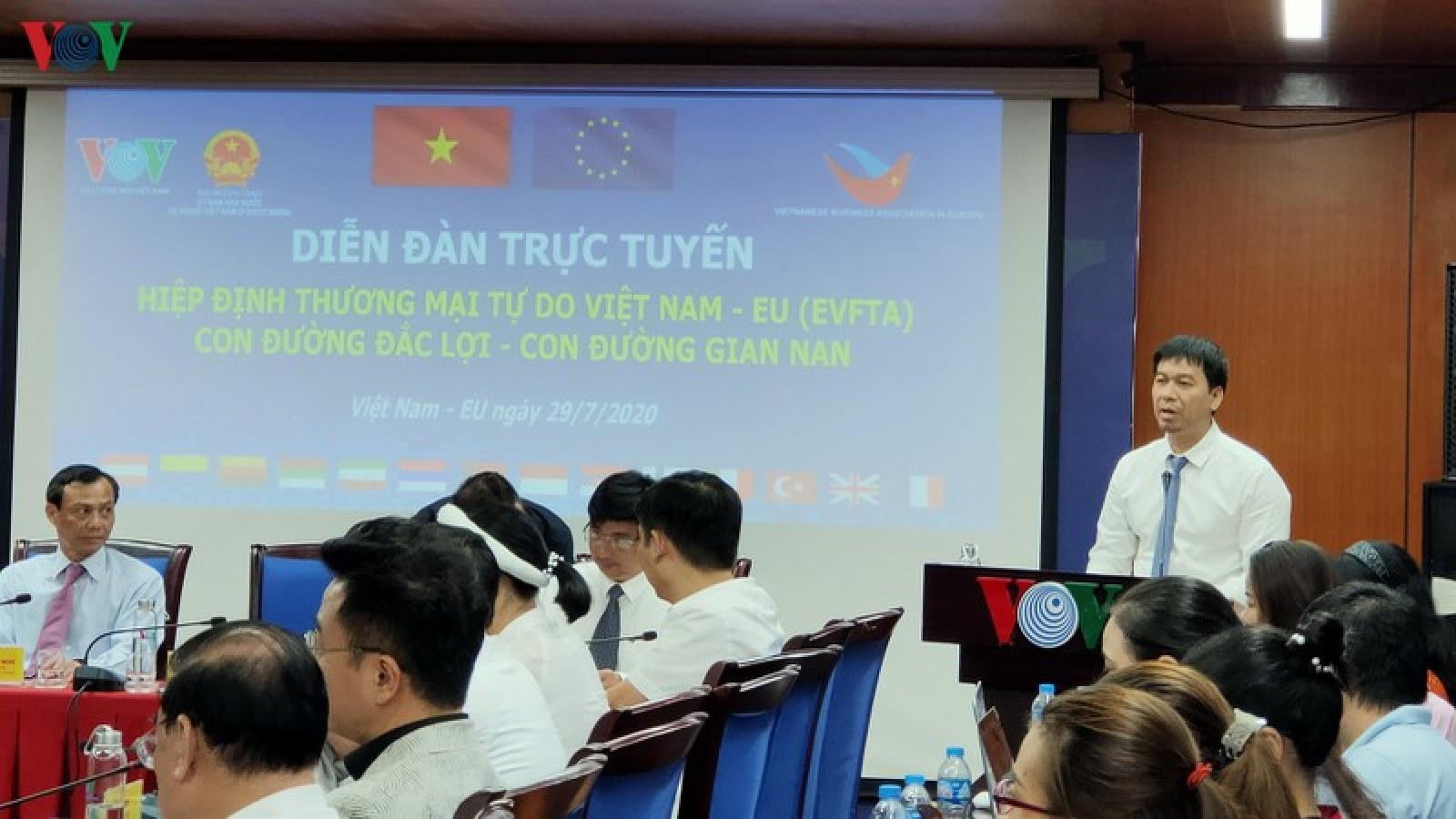 Hiệp định EVFTA: Con đường đắc lợi – Con đường gian nan