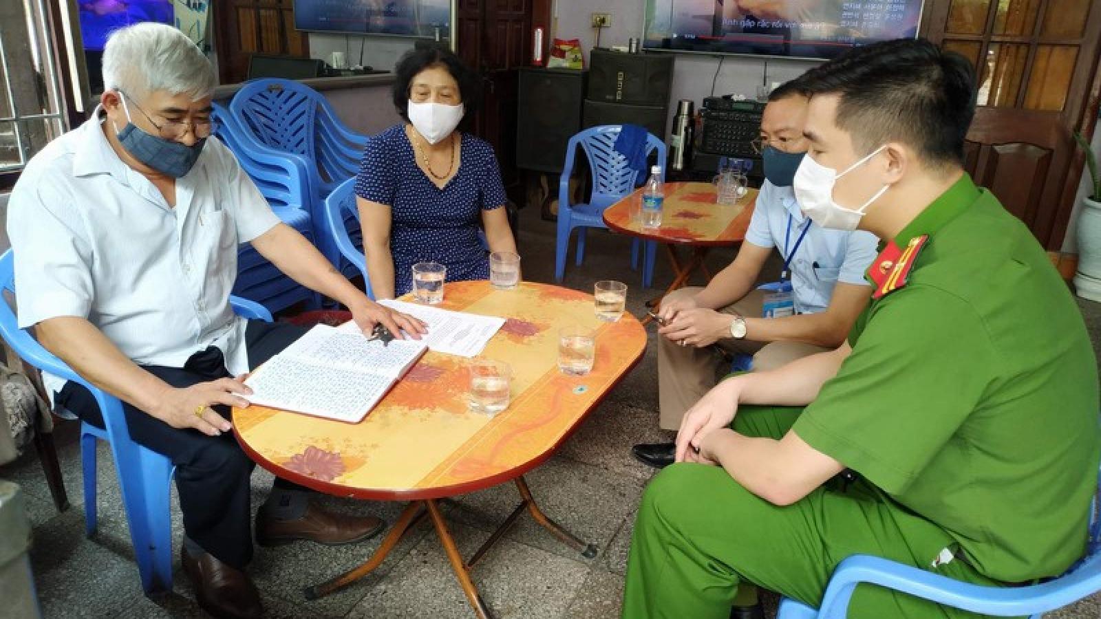 Gần 3.000 người Quảng Ninh tự khai báo y tế khi trở về từ Đà Nẵng