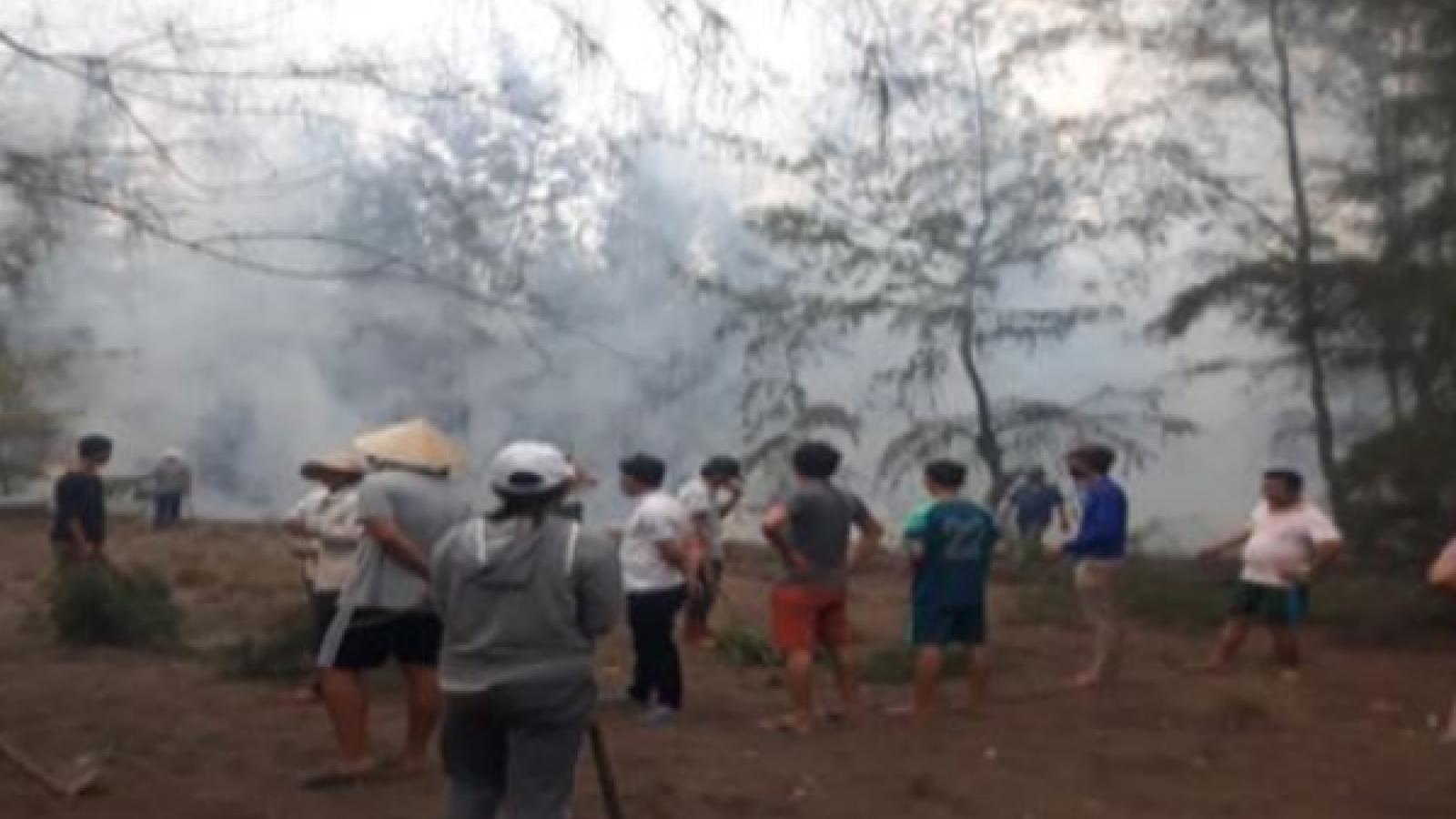 Nâng cao trách nhiệm cộng đồng trong phòng cháy chữa cháy rừng